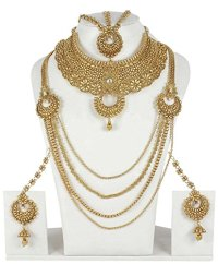 Indian Gold Wedding Necklace | www.pixshark.com - Images ...