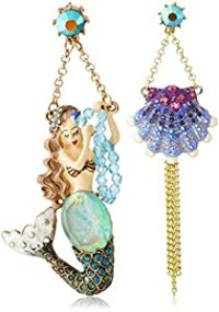 "Amazon.com: Betsey Johnson ""Into The Blue"" Mermaid ..."