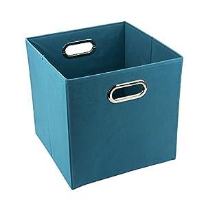 Amazoncom 12 Inch Solid Nonwoven Large Foldable Storage