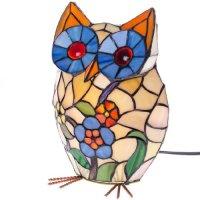 Glass Owl Lamp : Lighting