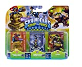 Skylanders Swap Force - Triple Pack D (Scorp, Chop Chop, Sprocket)