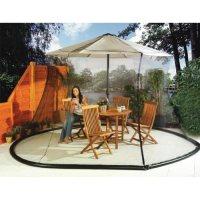 Amazon.com : Umbrella Mosquito Net Canopy Patio Set Screen ...