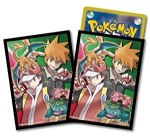 Ficial Pokemon Card Deck Shield Sleeve Red And Green Pieces