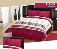 Amazon.com - Piano Complete Comforter Set, 6 Piece ...