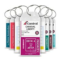 Amazon.com: Cruise Tag Caddy Cruise Luggage Tag Holder 8