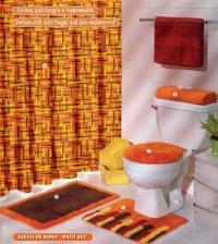 Book Of Orange Bath Rugs Sets In Australia By William ...