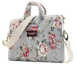 Canvaslove-Flower-pattern-laptop-shoulder-bag
