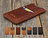 Samsung Galaxy Cover Embossed Leather Case Sleeve Pouch Shell Monogram your Name, Personalized Wallet