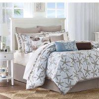 Harbor House Westport Queen Comforter - city scene bedding