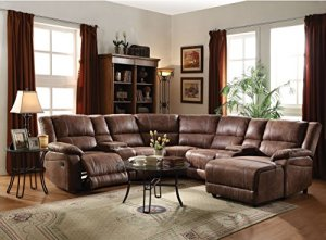 1PerfectChoice-Zanthe-II-5Pcs-Brown-Home-Theater-Reclining-Sofa-Sectional