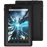 """ProntoTec 7"""" Android 4.4 KitKat Tablet PC, Cortex A8 1.2 GHz Dual Core Processor,512MB / 4GB,Dual Camera,G-Sensor (Black)"""