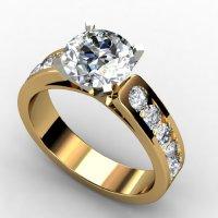 1.45 CT DIAMOND PROMISE SOLITIARE ENGAGEMENT RINGS 14k ...
