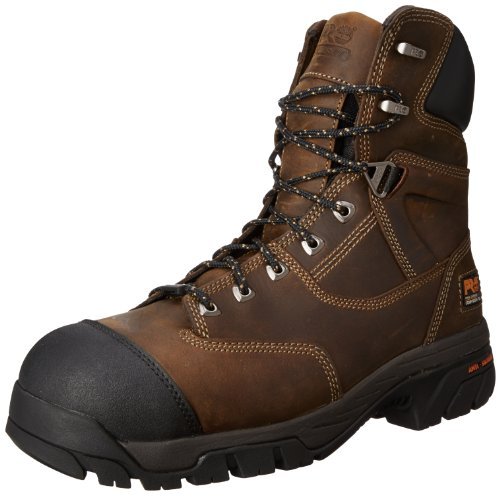 Timberland Pro Mens Helix 8 Inch Insulated Comp Toe Work