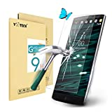 LG V10 Screen Protector,Yootech LG V10 Tempered Glass Screen Protector - Guard Against Scratches and Drops - Ultra HD Clear With Maximum Touchscreen Accuracy (LG V10 Tempered Glass)