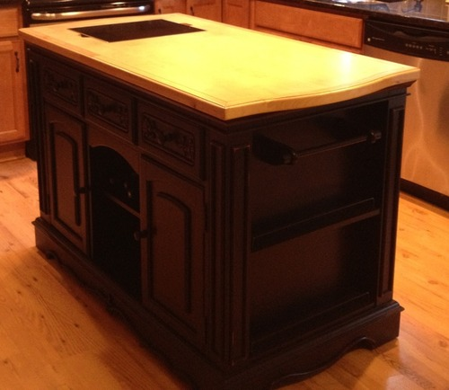 Powell Pennfield Kitchen Island Amazon.com: Powell Pennfield Kitchen Island: Furniture & Decor