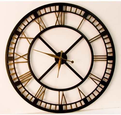 Looking For Large Clocks? Five Railway Clocks That Wow Train - living room clock