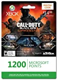 Xbox LIVE 1200 Microsoft Points for Call of Duty