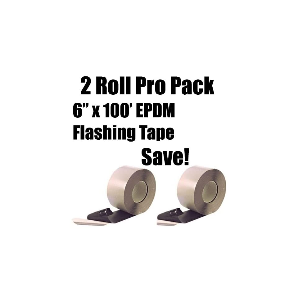Epdm Rol 2 Roll Pro Pack Bundle 6 X 100 Roll Black Epdm Single On Popscreen