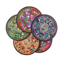 Buy Low Price Vintage Drink Coasters Floral Design  Home ...