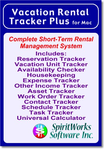 Free Account Software Vacation Rental Tracker Plus for Mac