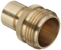 Dixon DGH7P Brass Quick-Connect Fitting, Garden Hose Male ...