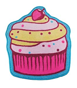 Amazoncom Sweet Cupcake Acrylic Floor Mat Cupcake Rug