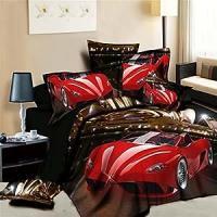 Amazon.com: Newrara Lamborghini Printed Bedding. 3d ...