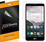 [6-Pack] Supershieldz- Anti-Bubble HD Clear Screen Protector For LG Stylo 2 -Lifetime Replacements Warranty - Retail Packaging