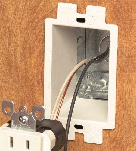 Arlington Be1 2 Electrical Outlet Box Extender 1 Gang