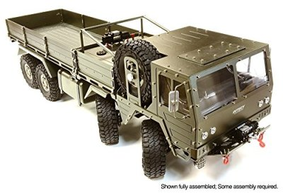 Integy-RC-Hobby-C26416GUN-Billet-Machined-8X8-10T-GL-High-Mobility-Off-Road-Truck-110-Size-ARTR