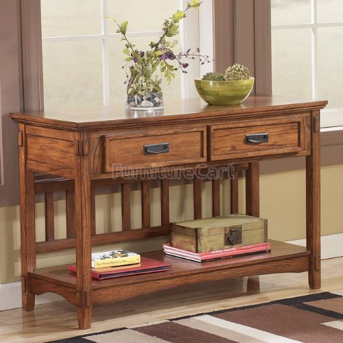 Image of Cross Island Sofa Console Table (T719-4)