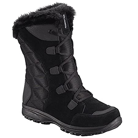 Women's Columbia WATERPROOF Ice Maiden II Lace-up Boots. Lightweight and versatile. Hiking. Shoveling. Shopping! Here are Boots ready for all your winter chores, even the less-glamorous ones. Suede leather and textile uppers combine with a synthetic-...