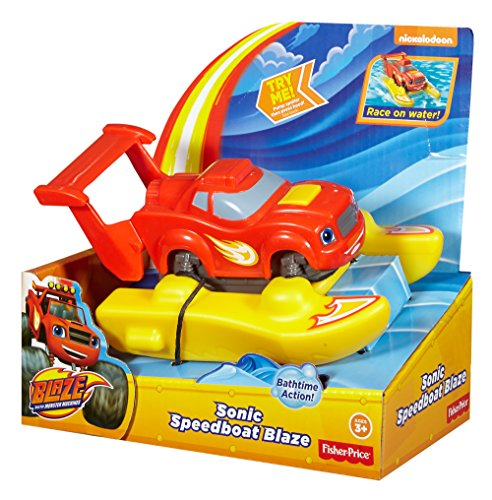 Blaze y los Monster Machines - Lancha supersónica Fisher-Price (Mattel DGK63)