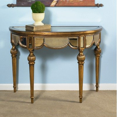 Image of Tuscan Overtures Demilune Console Table (T1954-404)