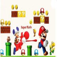Super Mario Bros Giant Wall Decals - Vinicius Ferreira Silvana