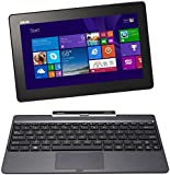 Asus Transformer Book T100TA 25.65 cm (10.1 Zoll) Convertible Tablet PC (Intel Atom Quadcore Z3740 1,3GHz, 2GB RAM, 32GB+500 HDD, Intel HD, Windows 8 Touchscreen) grau