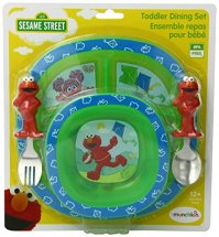 Munchkin Sesame Street Dining Set Home Garden Kitchen ...