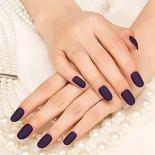 Artificial Purple Manicure