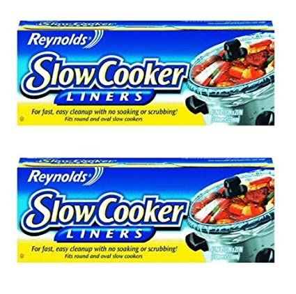 "Reynolds Metals 00504 Slow Cooker Liners 13""X21"" - 2 Pack"