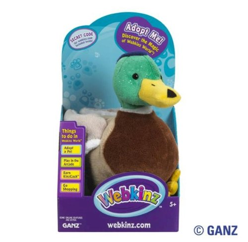 Webkinz Mallard Duck in Box