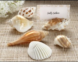 Shells-by-the-Sea-Authentic-Shell-Place-card-Holders-with-Matching-Place-cards-Set-of-72-Baby-Shower-Gifts-Wedding-Favors-Set-of-12