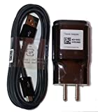 LG OEM Charger 1.8 A with LG Micro USB Cable for LG G2 G3 G4 - Black