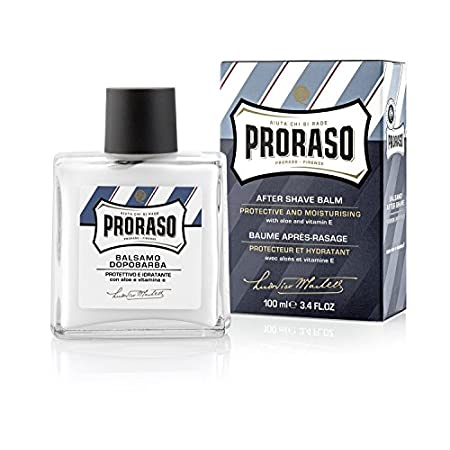 Proraso After Shave Balm moisturizes and strengthens your skin. Its non-greasy, aloe vera base soothes razor burn while its rich infusion of vitamin E moisturizes and restores damaged cells. Licorice extract reduces redness and improves skin tone, le...
