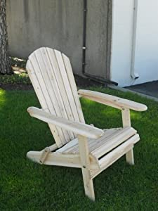 Amazoncom Living Accents Folding Adirondack Chair