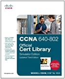 51yDh2T4x7L. SL160  Top 5 Books of CCNA Computer Certification Exams for April 21st 2012  Featuring :#4: CCNA 640 802 Official Cert Library, Simulator Edition, Updated (3rd Edition)