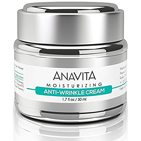 EXPERIENCE THE MOISTURIZING ANTI WRINKLE POWER OF ANAVITA'S HYALURONIC ACID + ARGIRELINE (5%) + MATRIXYL<br /> Most Users Achieve Excellent Results Within A Few Short Weeks!<br /> You Won't Find A Higher Quality, More Effective Anti Wrinkle Cream On The Market...