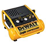 DEWALT D55141 2 Gallon 150 PSI Max Trim Oil Free Air Compressor