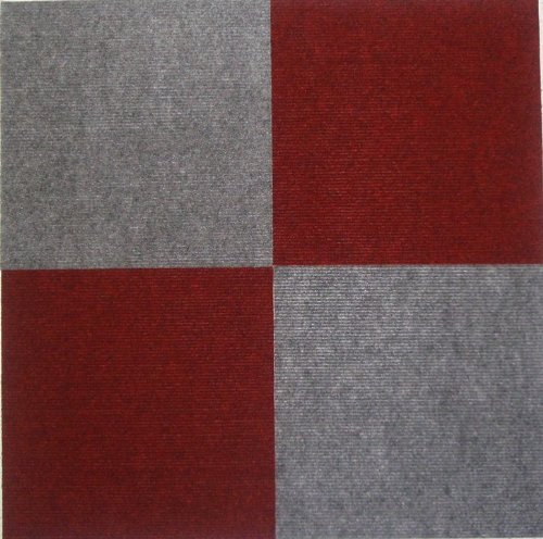 Quadratischer Teppich Peel And Stick Carpet Tiles Gray 12 Inch 144 Square Feet