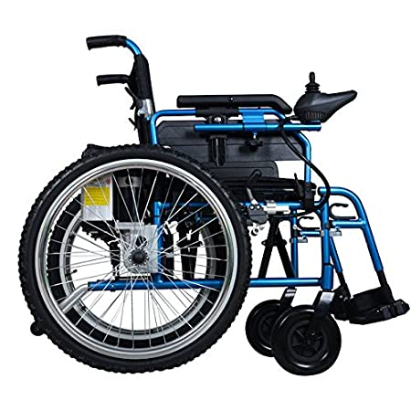 The PW-800AX is a dual function power wheelchair with standard large rear wheels, meaning you can row manually as usual and drive by power when you are tired. It takes just 10 seconds to change from powered to manual mode, and it helps to take away f...