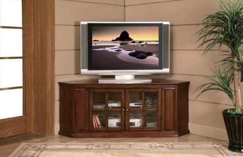 Image of Home Elegance 8048-T 62 Inch RTA TV STAND- CHERRY FIN. (8048-T)